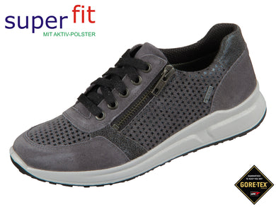 superfit Merida 5-09152-20 grau Velour Effektleder