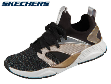 Skechers Shine Status 84853 BKRG black rose gold