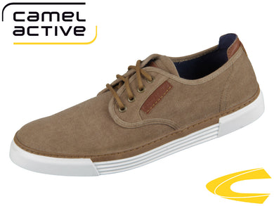 camel active Racket 460.14.10 sand Washed Canvas