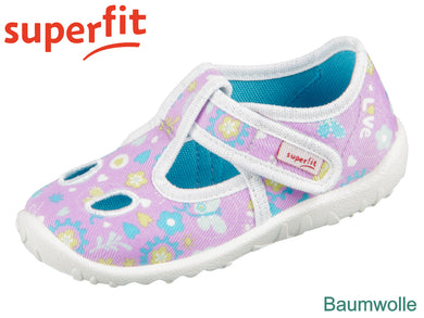 superfit SPOTTY 6-09248-90 lila Textil