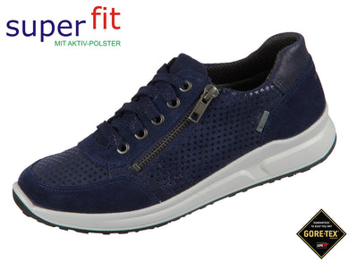 superfit Merida 5-09152-80 blau Velour Effektleder