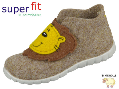 superfit HAPPY 8-00295-40 beige Wollfilz
