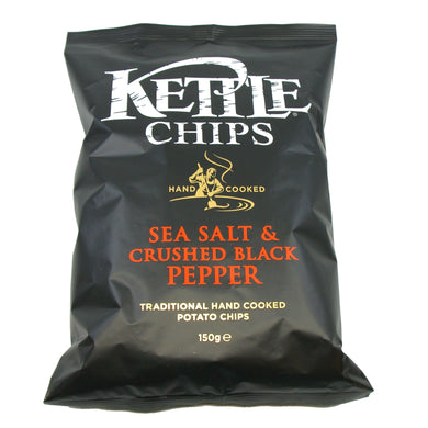 KartoffelChips Sea Salt & Black Pepper Kettle Chips