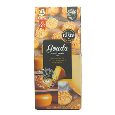Gouda Crumbly Biscuits