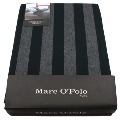 Marc o'Polo Bettwäsche Classic Winter Stripe anthracite Schlafzimmertextilien