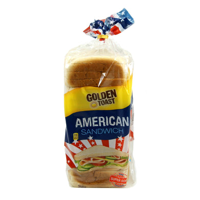 Golden Toast American Sandwich Lebensmittel