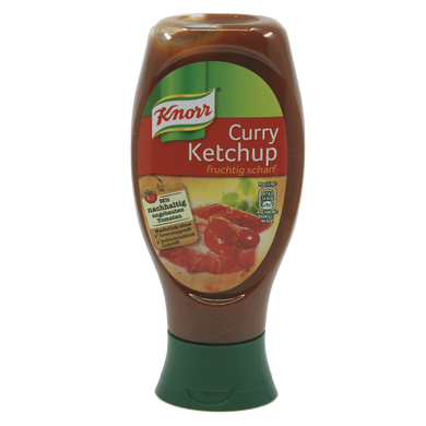 Knorr Curry Ketchup Lebensmittel