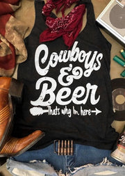 Cowboys & Beer Arrow Tank
