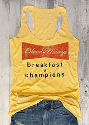 Bloody Marys Breakfast Of Champions Tank