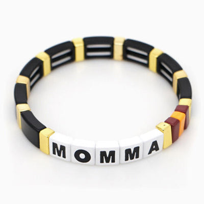 Presale - Fashion Alloy Momma Bracelet