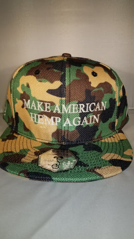 Grassroots x MAHA Hemp Hat for Veteran Awareness