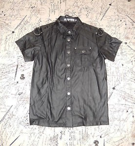 STOCK OFF LIP SERVICE  Snap Front S/S Cop Shirt Another Way of Life