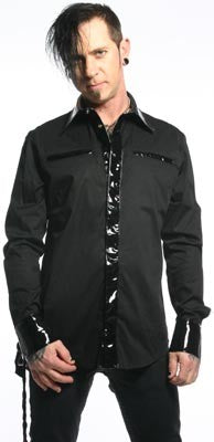 STOCK OFF LIP SERVICE Long sleeve man shirt Another Way of Life