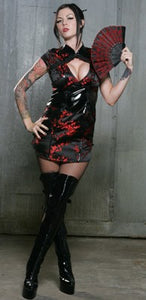 STOCK OFF LIP SERVICE China Doll Mini Dress Another Way of Life