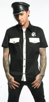 STOCK OFF LIP SERVICE Men's Cop Shirt Another Way of Life