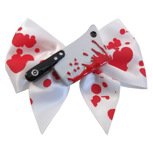 Blood cleaver hair bow Slides Another Way of Life