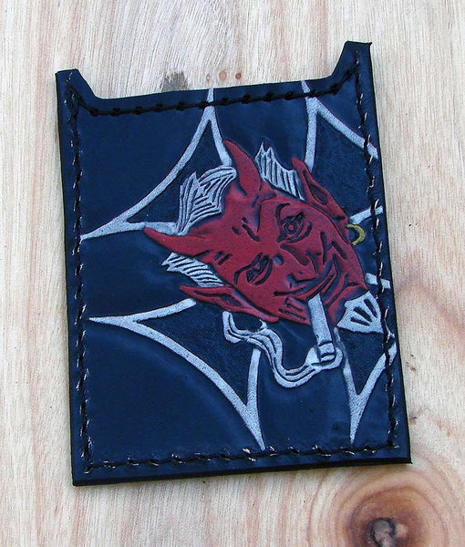 Red devil card holder by Another Way of LifeAnother Way of Life
