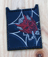 Red devil card holder