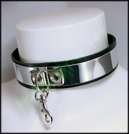 Punk leather collar Another Way of Life