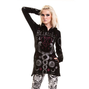Women's Jacket kaamos hood Black by HeartlessAnother Way of Life