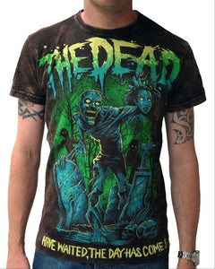 Man Black T-Shirt The Dead Acid - Another Way of Life