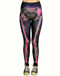 Too Fast Electric Leggings Skeleton Another Way of Life