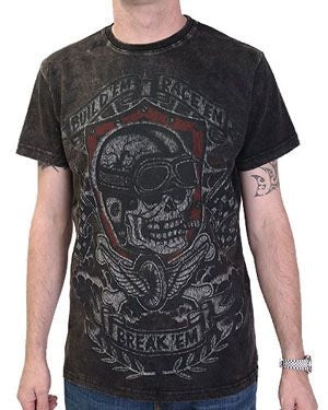 Darkside Garage Built Break Acid Wash Men's T-Shirt Another Way of Life