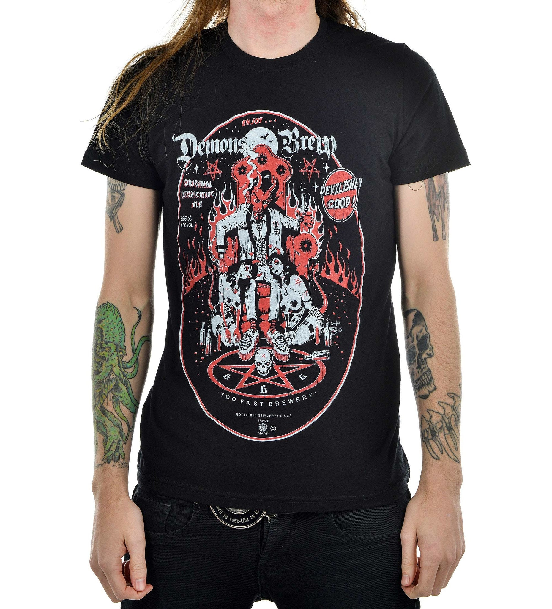 Too Fast T-shirt for Demon Brew Man Another Way of Life