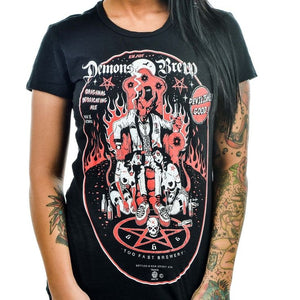 Women's T-Shirt Brew Demon Another Way of Life