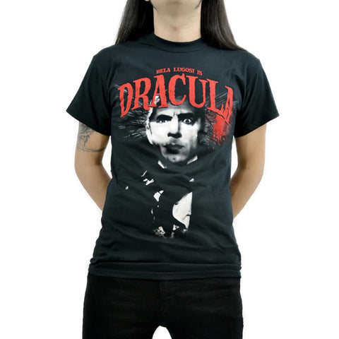 Rock Rebel T-shirt Black Bela Lugosi is Dracula Man Another Way of Life