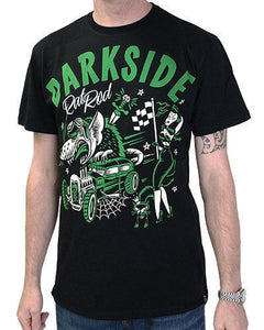 Darkside Black Rat Rod Men's T-Shirt Another Way of Life