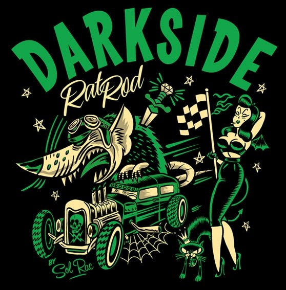 Darkside Black Rat Rod Men's T-ShirtAnother Way of Life
