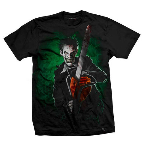 Men's Black T-Shirt Chainsaw Maniac - Another Way of Life