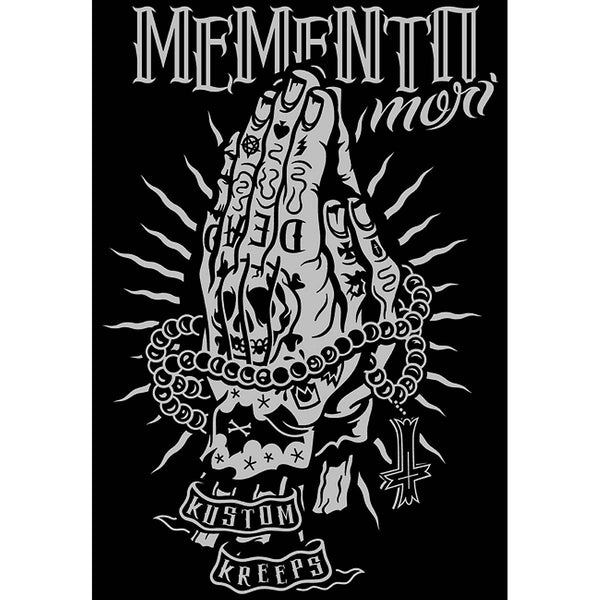 Kustom Kreeps Memento Mori Black Men's T-ShirtAnother Way of Life