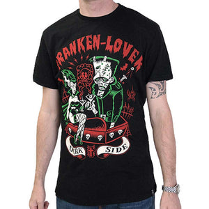 Darkside Franken Lover Black Men's T-ShirtAnother Way of Life