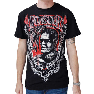 Darkside Monster Frank Black Men's T-Shirt