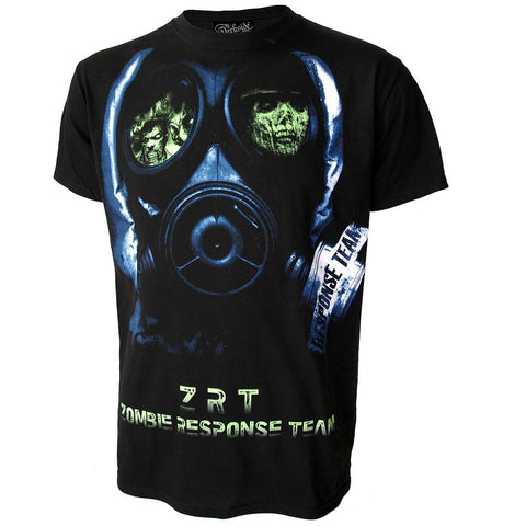 Darkside Zombie Face Mask Black Men's T-ShirtAnother Way of Life