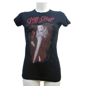 Sourpuss Chop Chop Womens Black T-ShirtAnother Way of Life