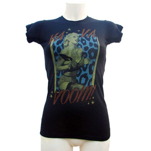 Womens Black T-Shirt Va Va Voom Another Way of Life
