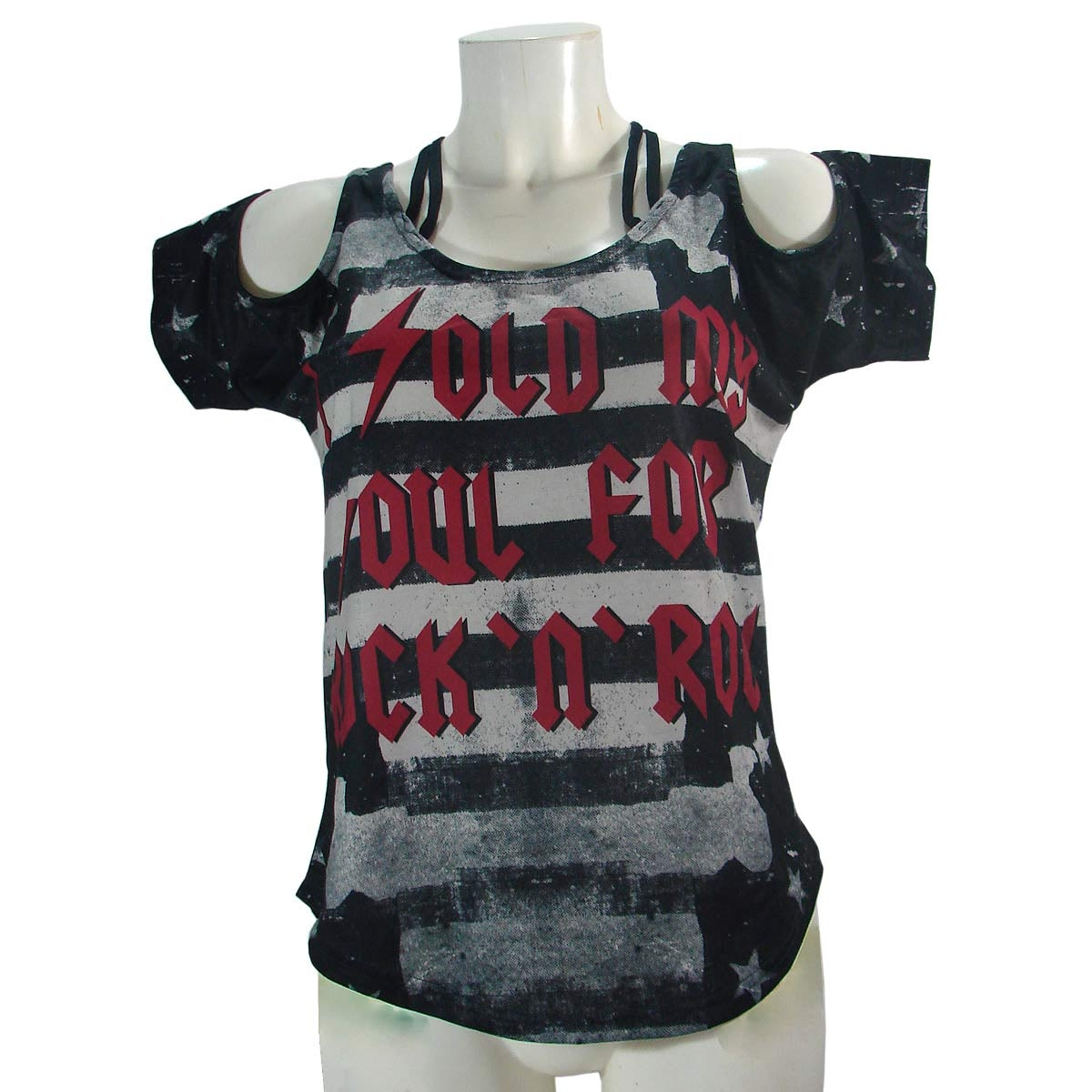 Too Fast Womens Top Shirt Sold My Soul Another Way of Life