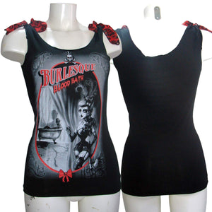 Women's Tank Top T-Shirt Burleska Blood Bath