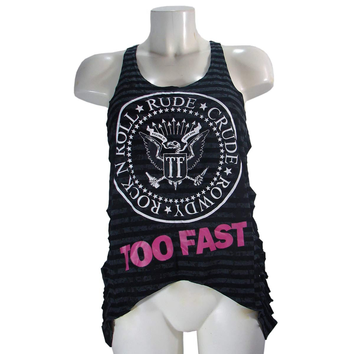 Too Fast Tank Top Women's T-Shirt Wounded Too Fast SealAnother Way of Life