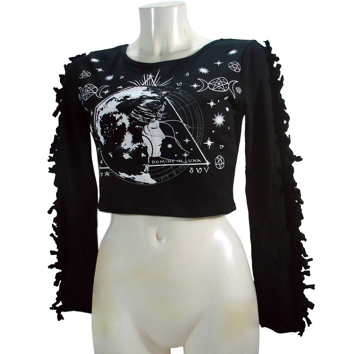 JawBreaker Ocult Long Sleeve Crop Top Another Way of Life