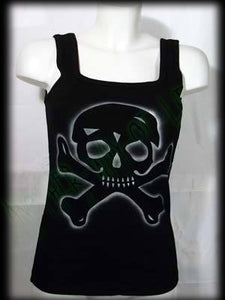 Woman's Tank Top Skull Another Way of Life