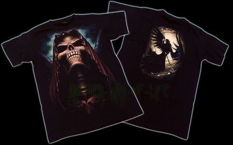T-shirt black angel Another Way of Life