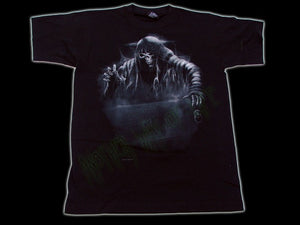 Men's Black Goth T-Shirt Reaper's Crypt Another Way of Life
