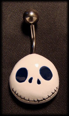 Belly piercing jack skelington with surgical steelAnother Way of Life