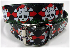 Belt with skulls Another Way of Life