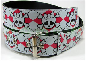 Woman's Gothic Punk Belt With SkullsAnother Way of Life