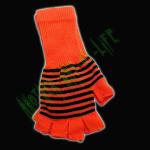 Ladies neon long wrist fashion gloves Another Way of Life